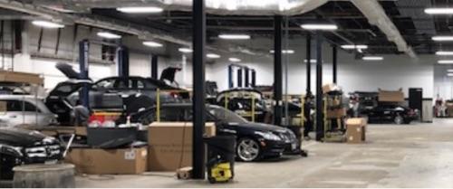 Euro Motorcars Collision Center Luxury Car Body Shop